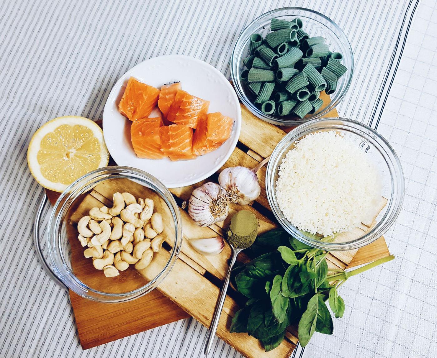 macarrones-de-esprirulina-ingredientes