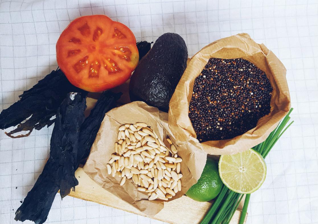 tartar-de-quinoa-negra-ingredientes