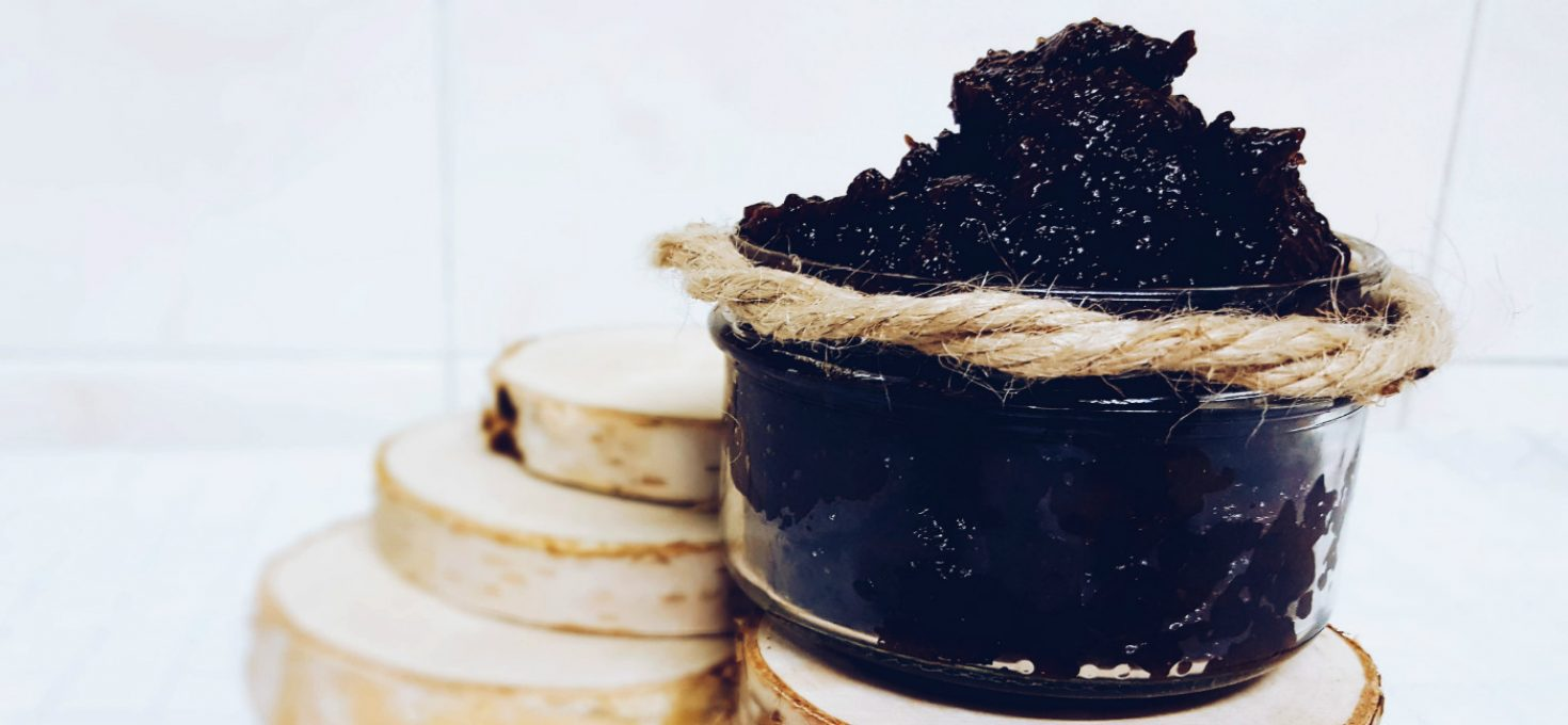Crema de ciruelas pasas o mermelada