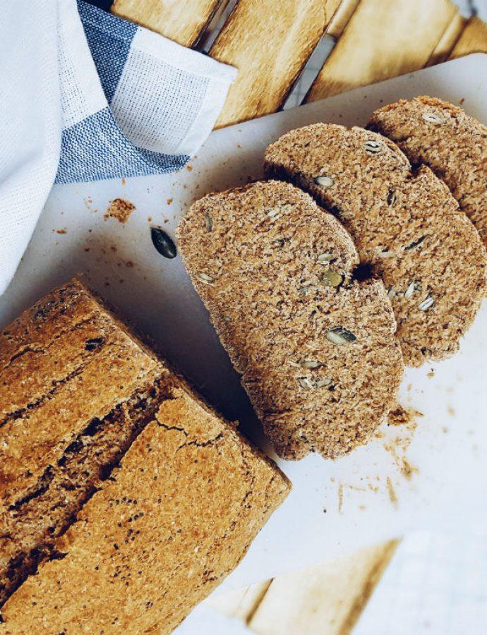 Pan de espelta y centeno 100% integral