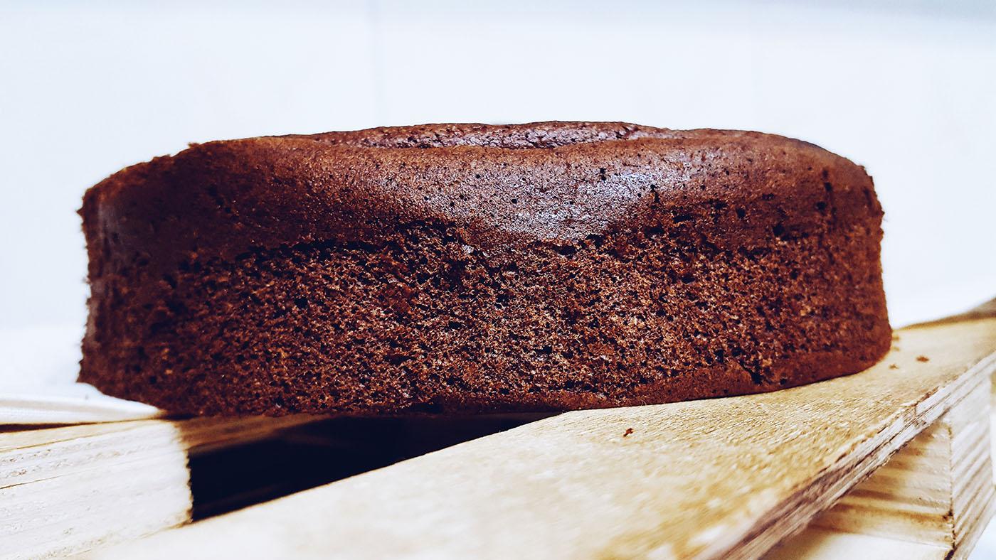 Tarta de chocolate saludable muy húmeda