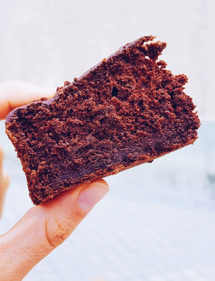 Tarta de chocolate saludable, la más esponjosa del mundo