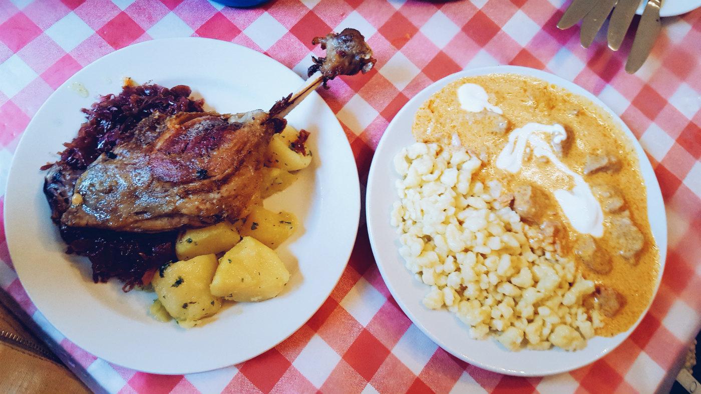 Budapest en tres días comer en Kadar Etzeke