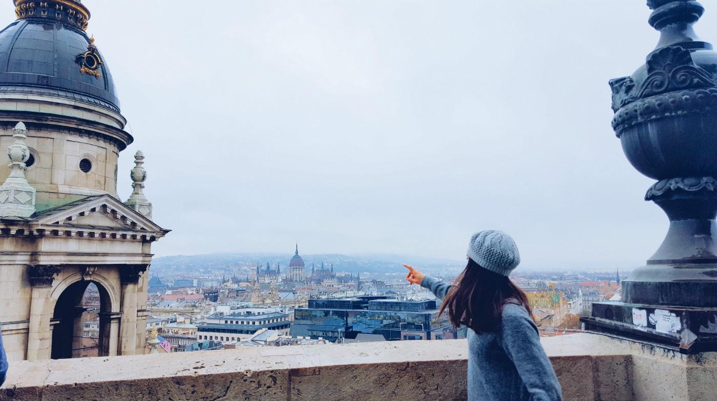 Cúpula de San Esteban durante Budapest en tres días