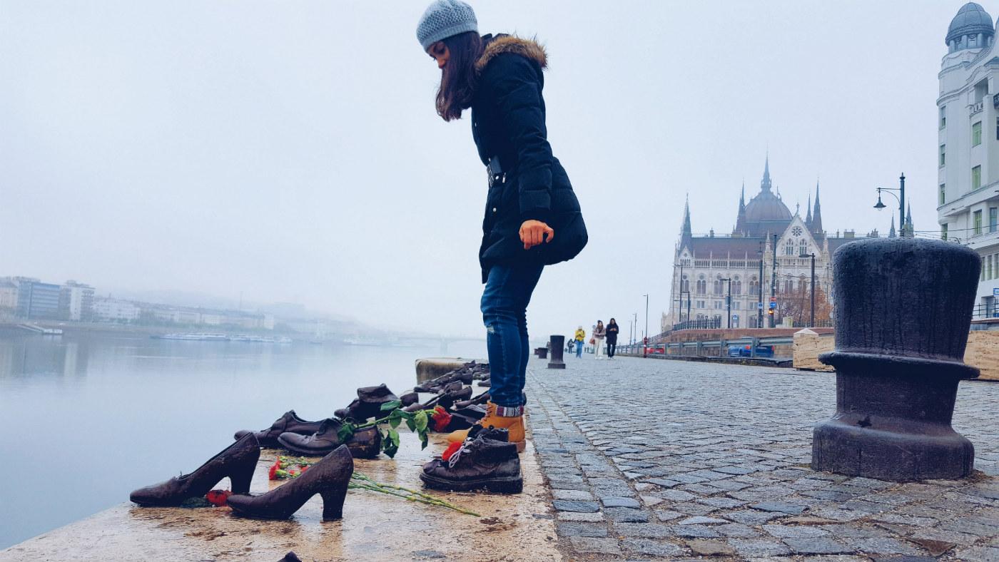 Budapest en tres días zapatos del Danubio