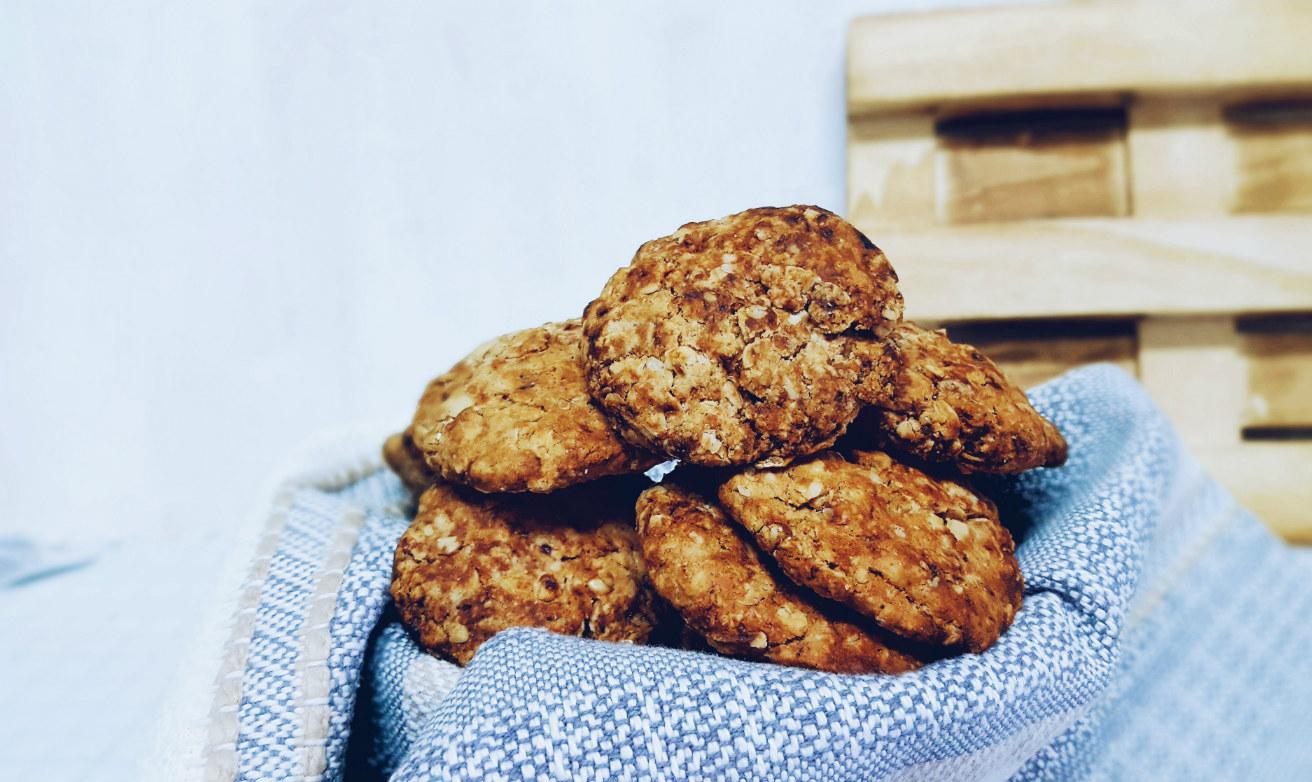 Cookies de avena saludables sin gluten