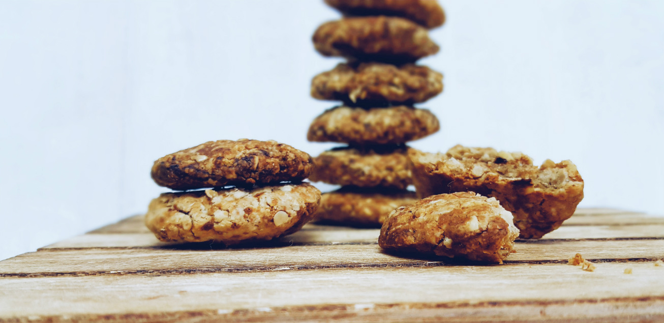 Cookies de avena saludables sin azúcar