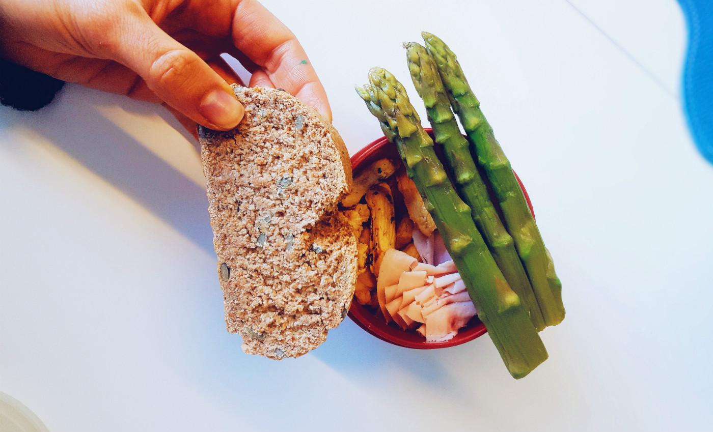 qué como en un día almuerzo saludable