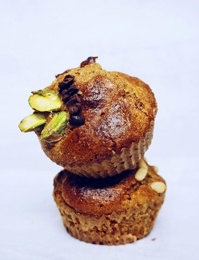 Muffins de naranja sin gluten como regalo navideño
