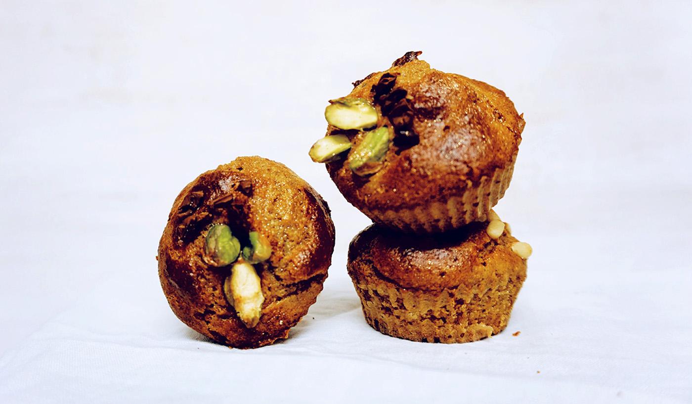 Muffins de naranja sin gluten