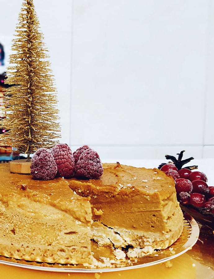 Tarta de boniato saludable inspirada en Edeand