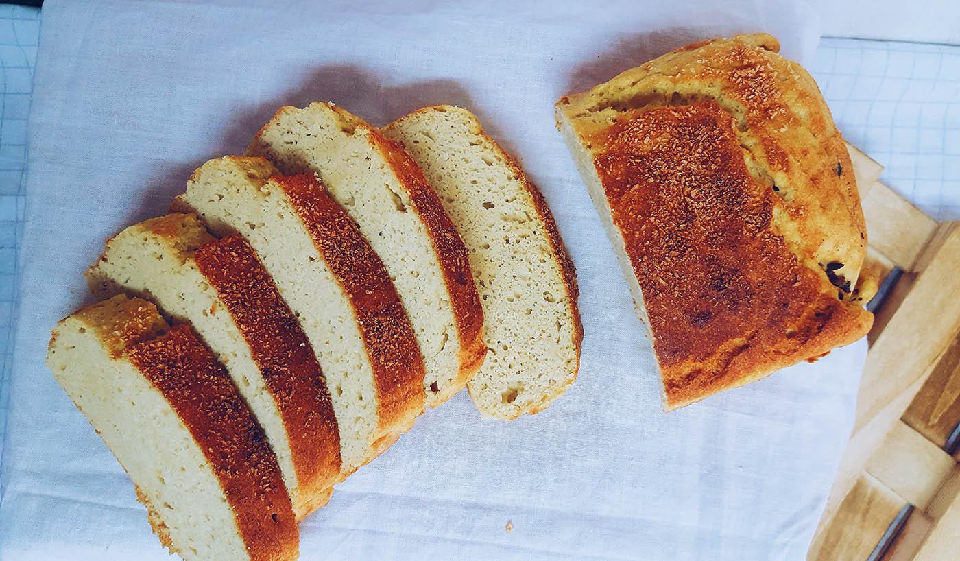 pan de coco sin lactosa