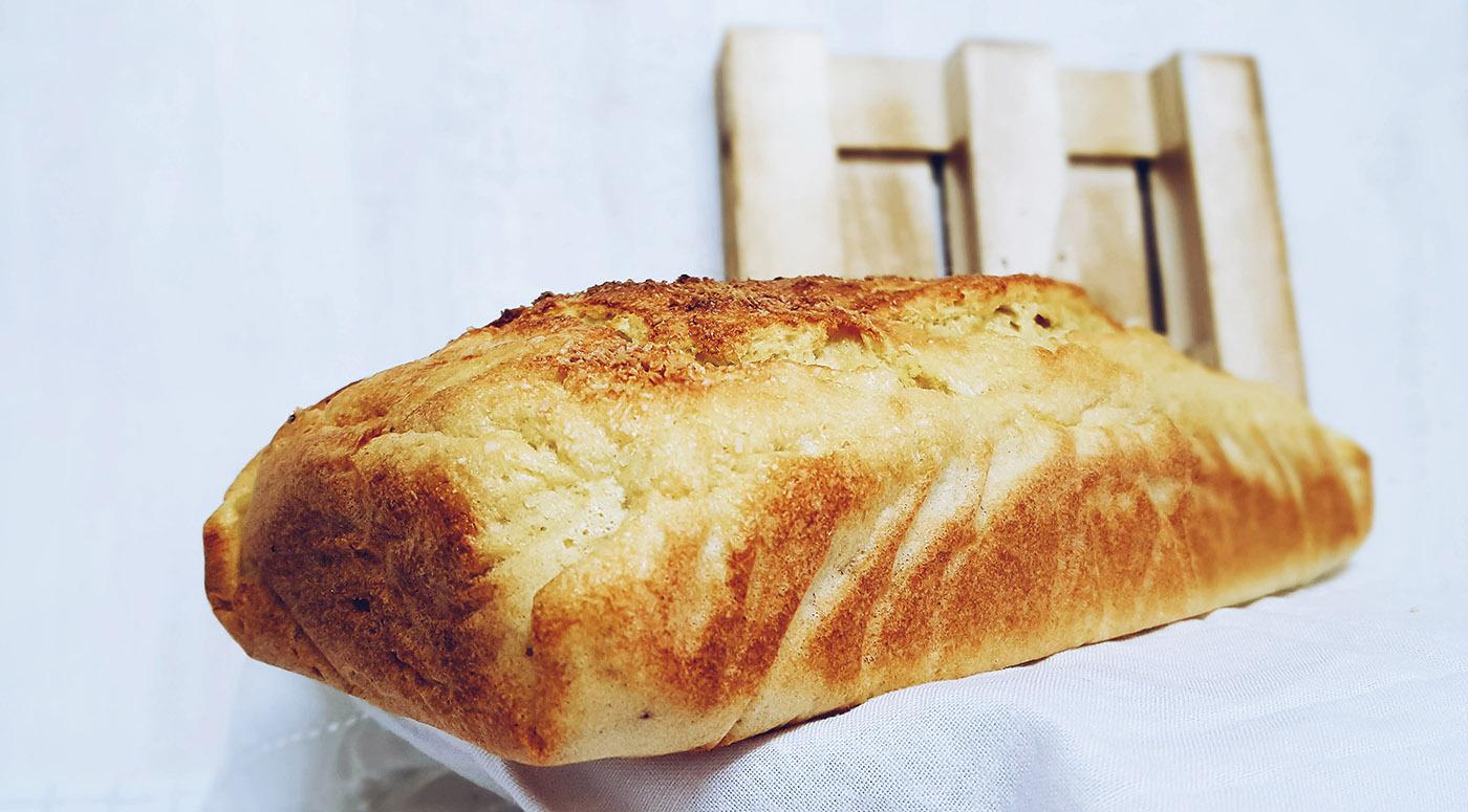 pan de coco saludable