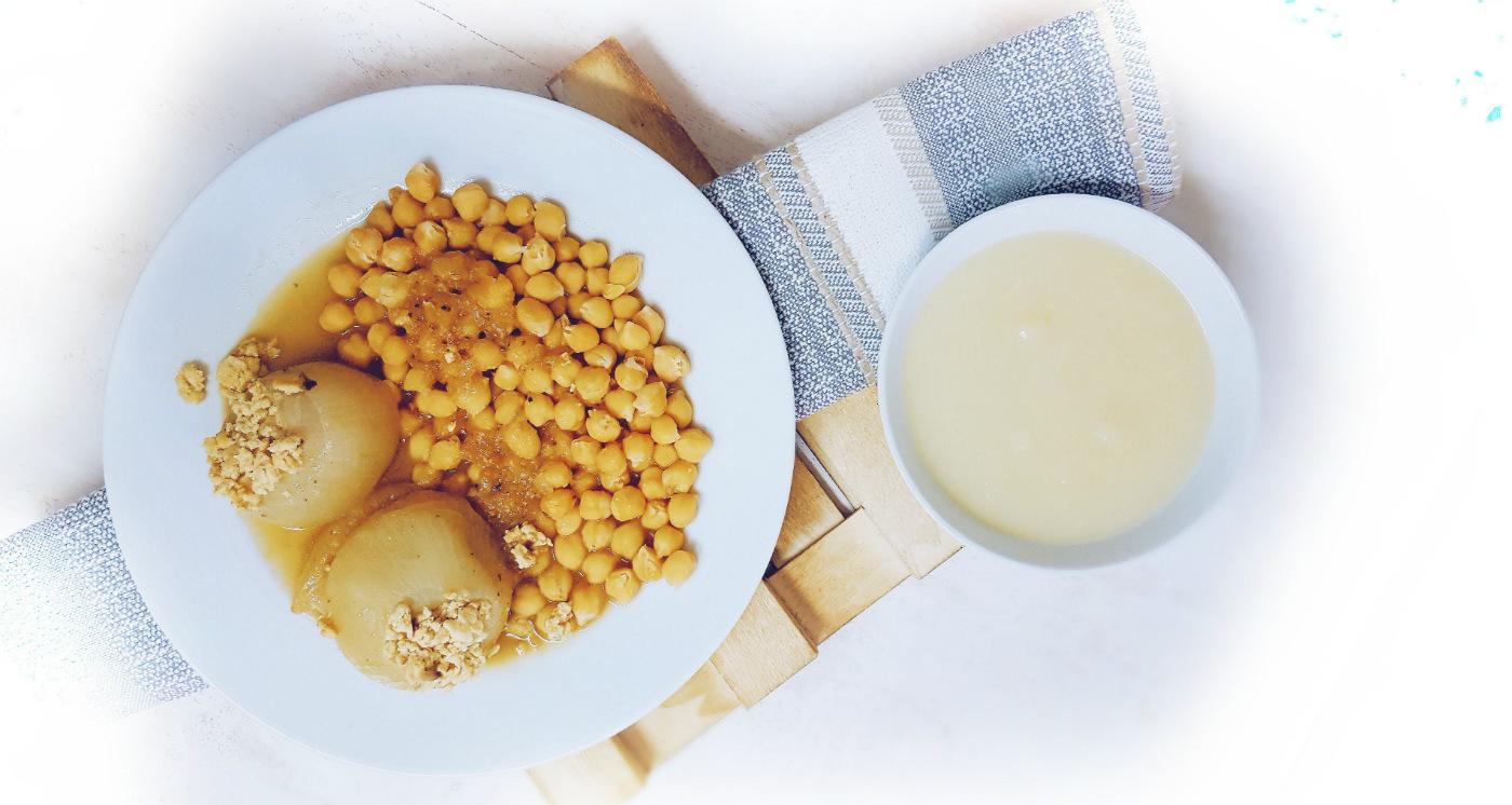 cebollas rellanas para dieta blanca