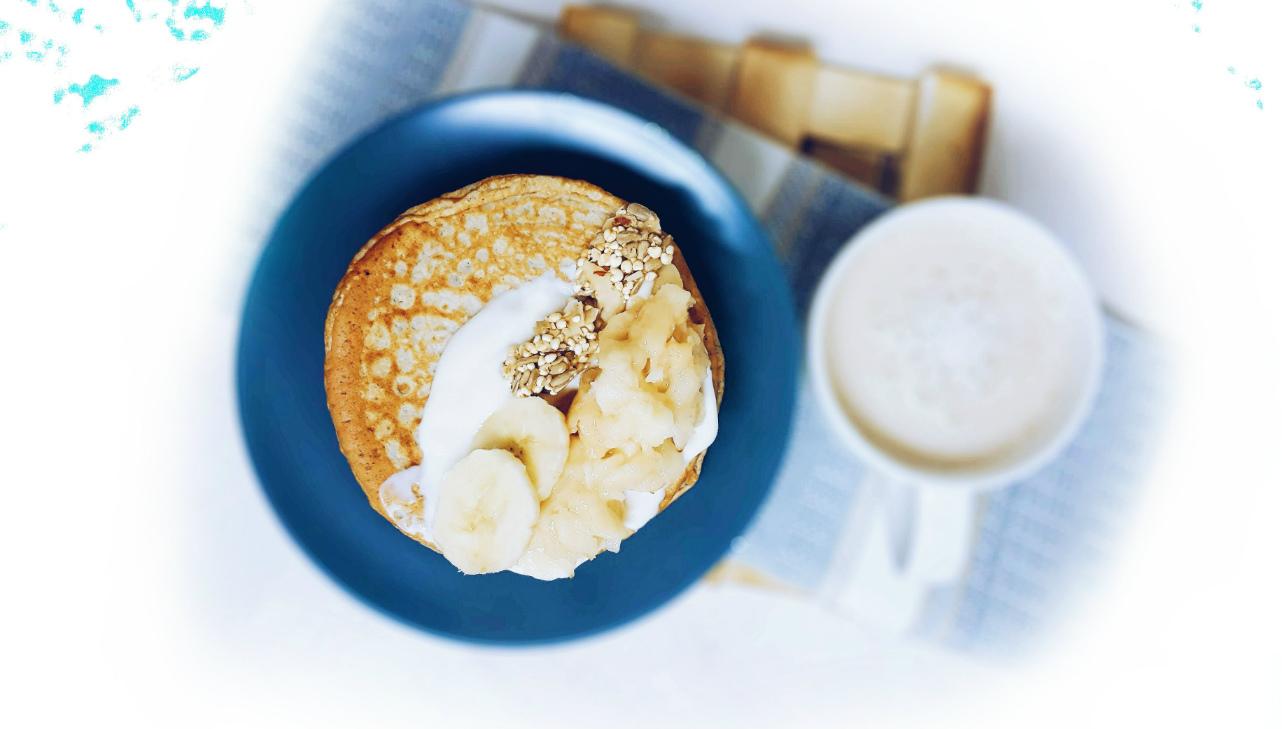 Tortitas saludables durante la dieta blanca