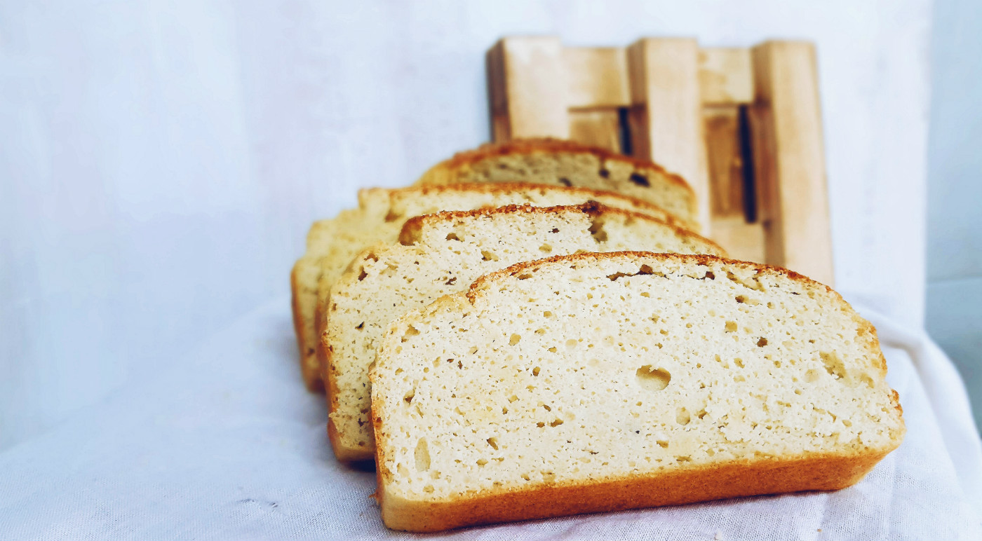 Pan de coco para la dieta blanca