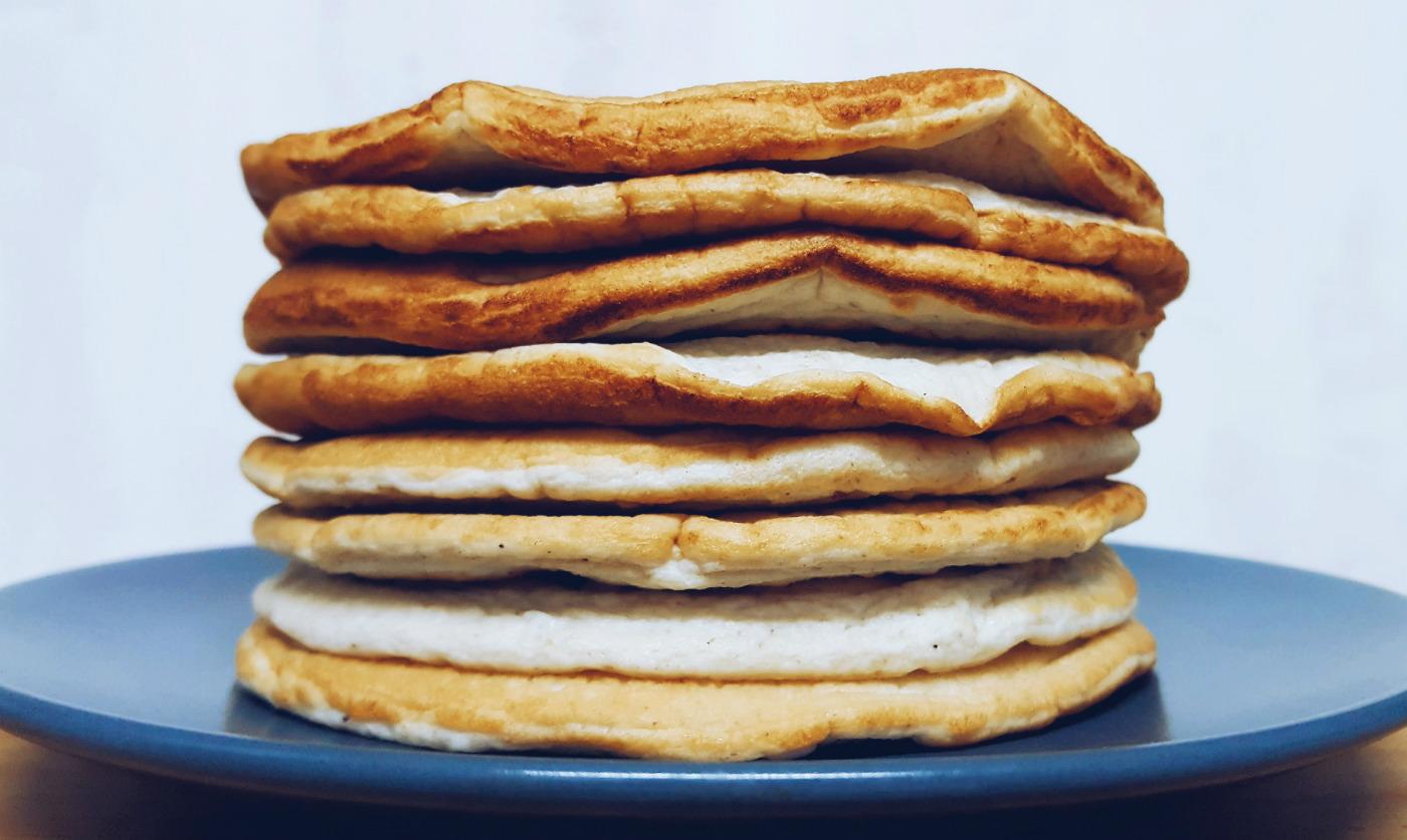 Pancakes en dieta blanca