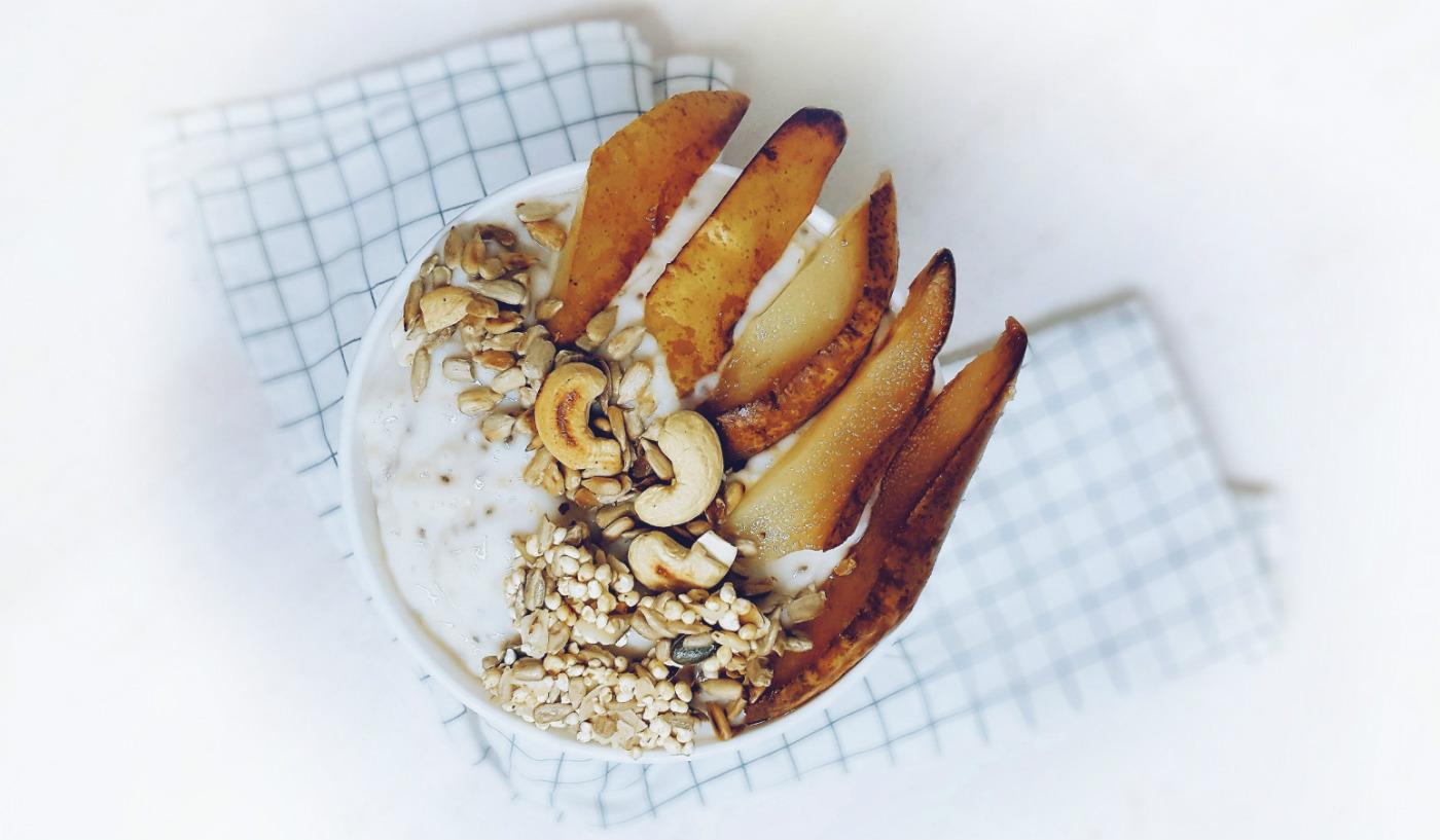 Porridge de avena para dieta blanca