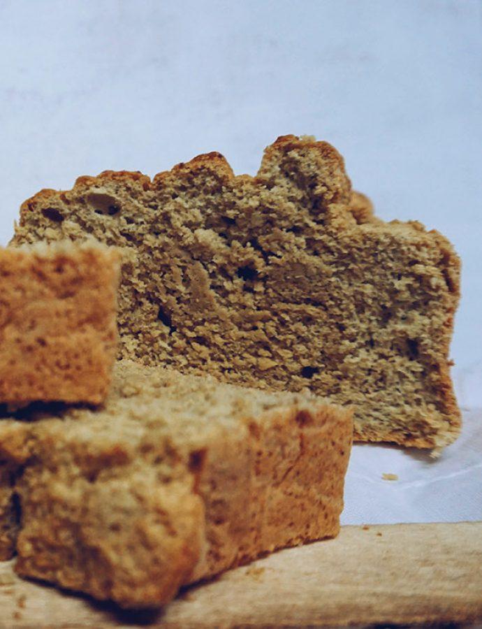 Pastel de canela y maíz, un especiado #CinnamonCake
