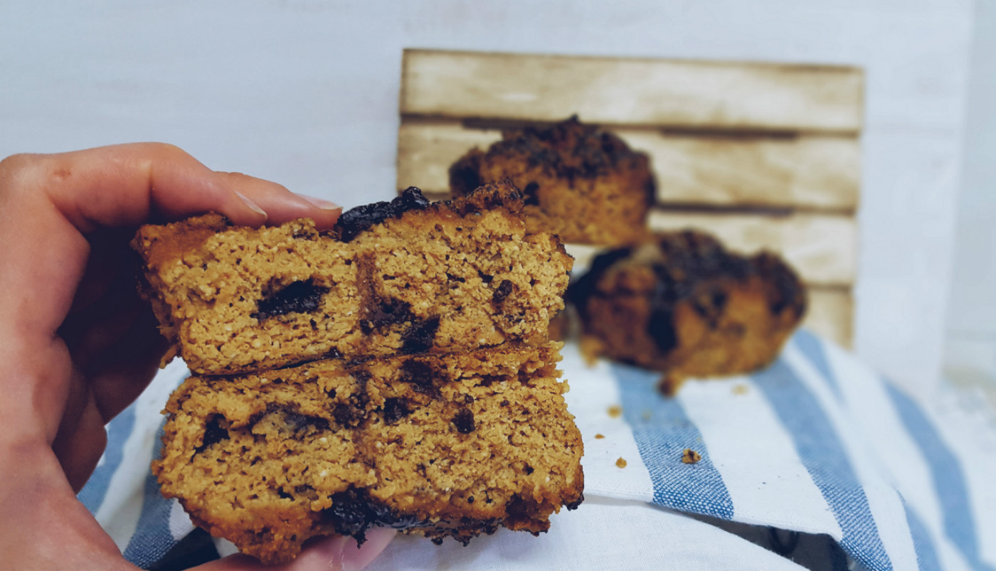 Muffins de calabaza vegana