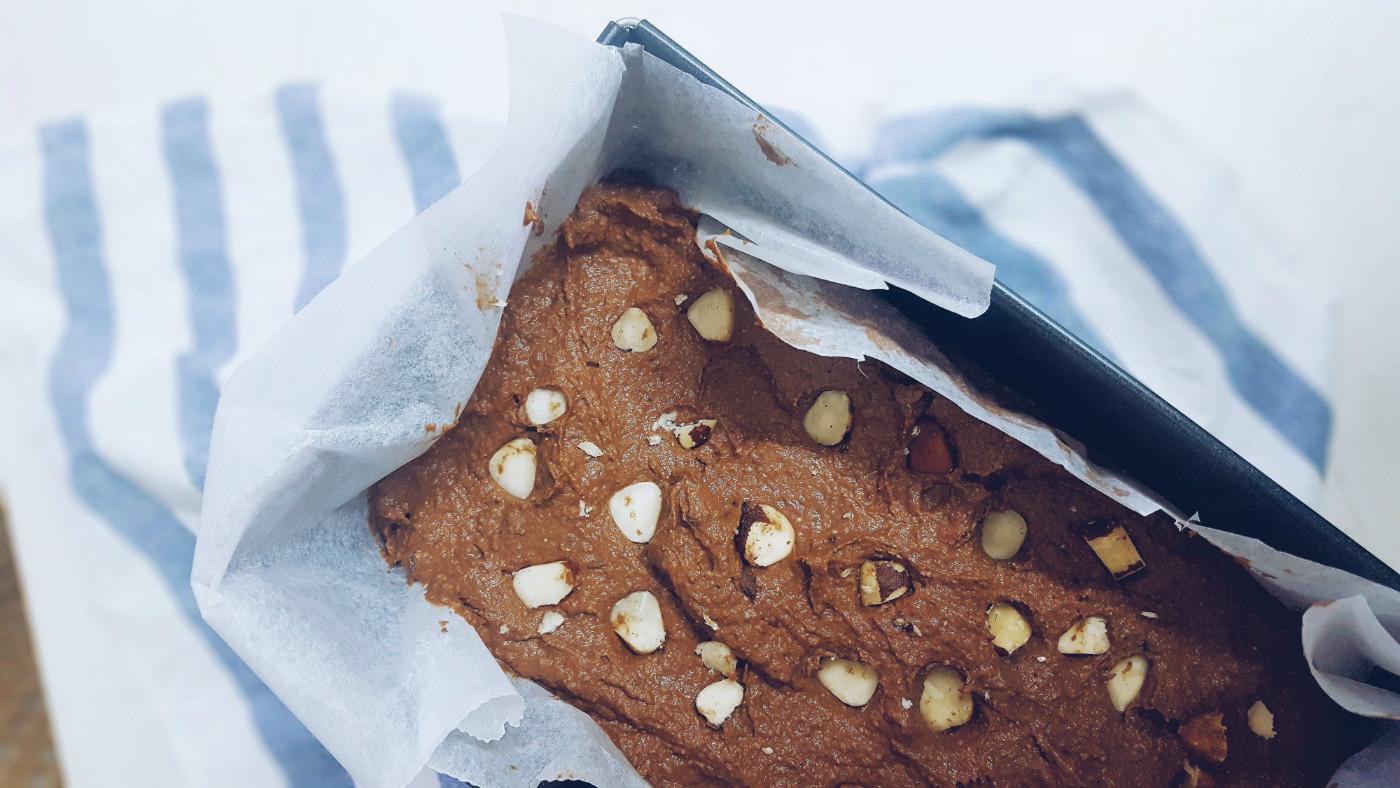 Brownie de berenjena sin gluten