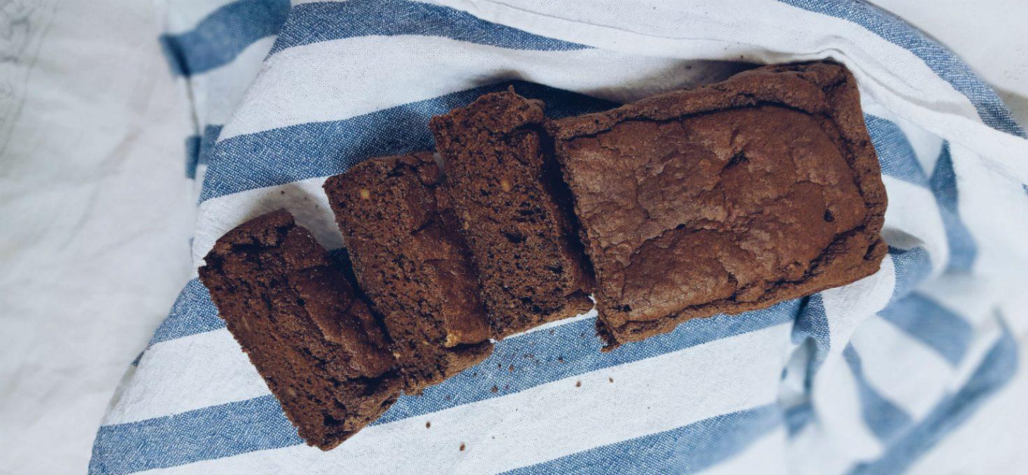 Healthy Carob Cake o bizcocho de harina de algarroba