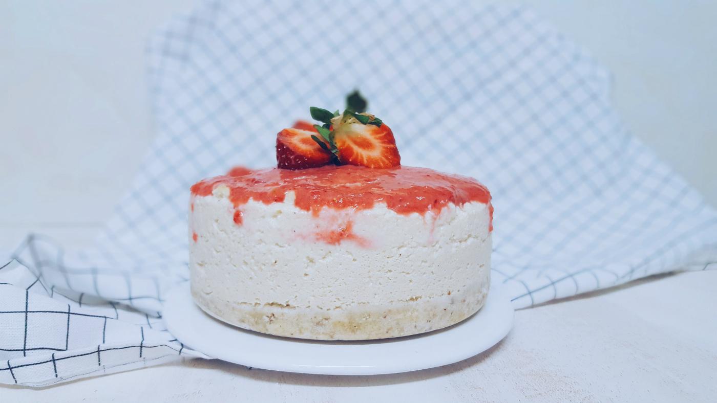 cheesecake vegano con tofu