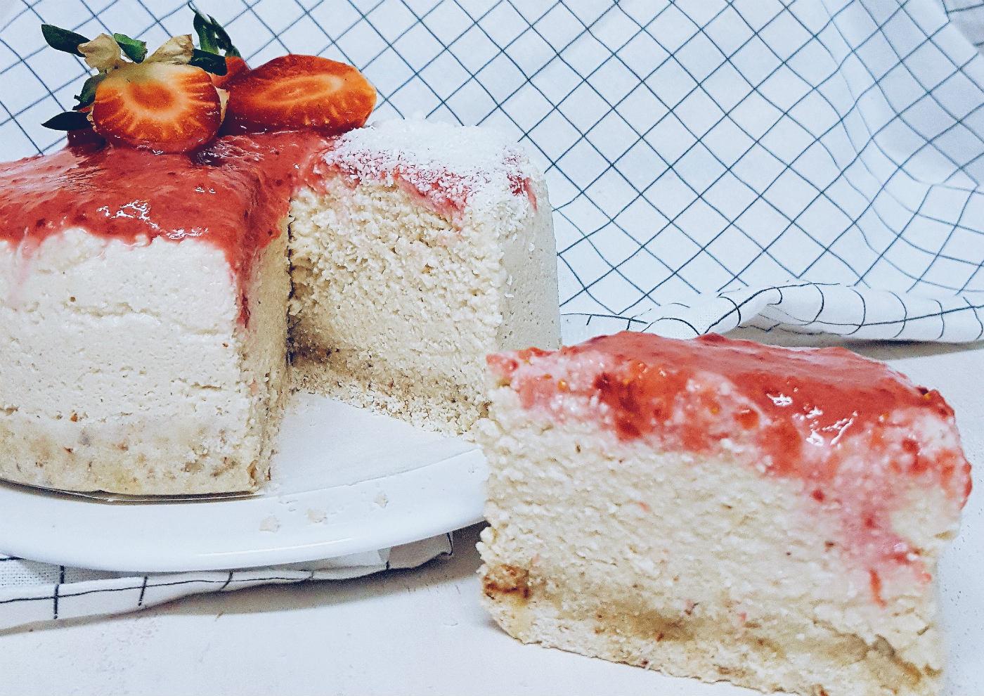 Receta de cheesecake vegano con anacardos