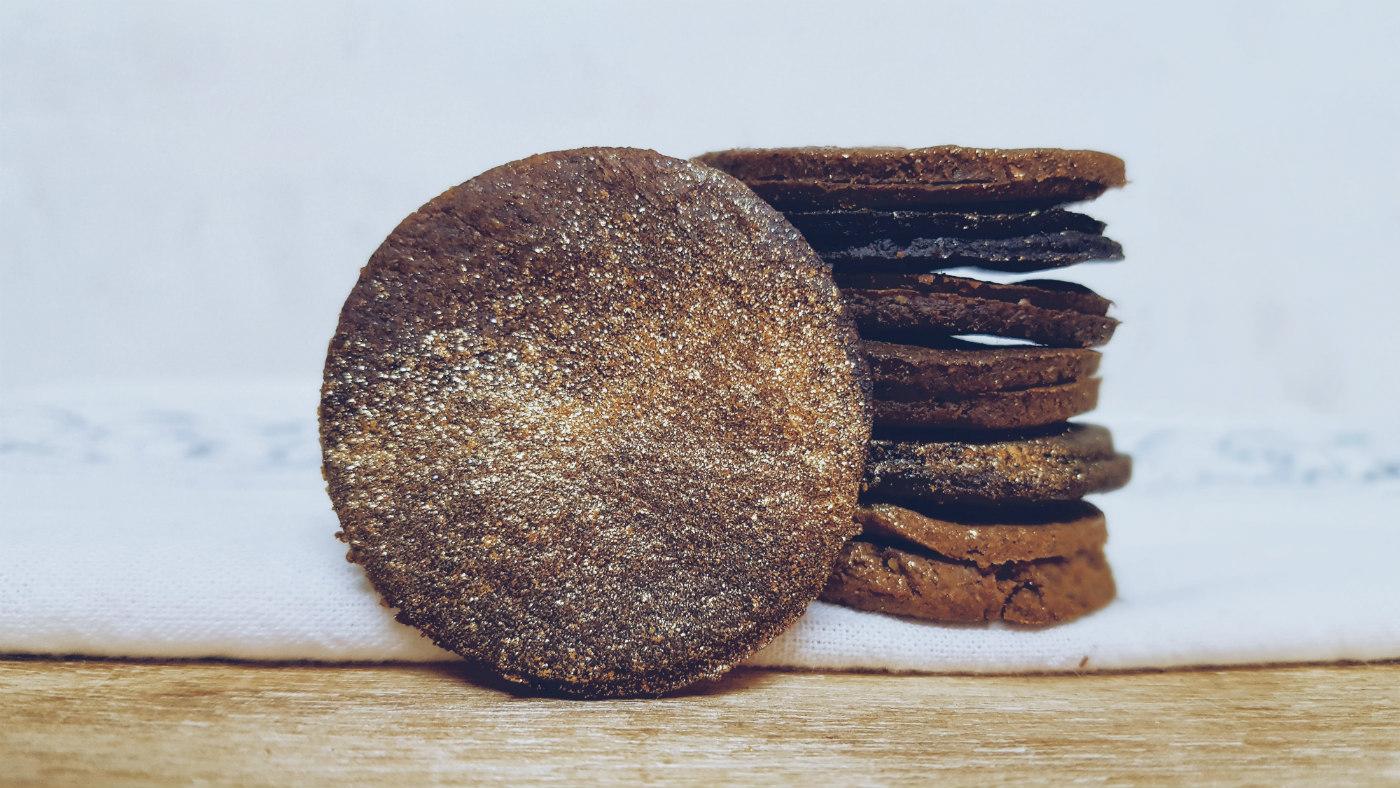 receta mini cookies de centeno crujiente