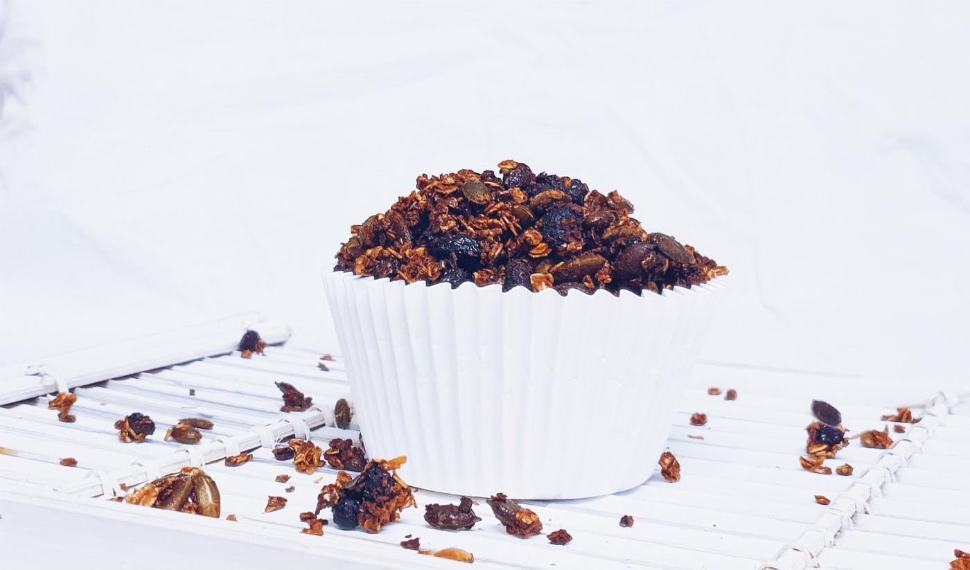 Receta de granola saludable casera