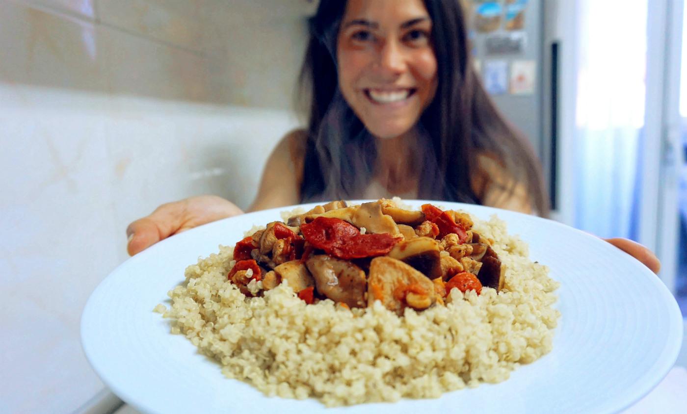 Recetas saludables para el reto siete días vegano