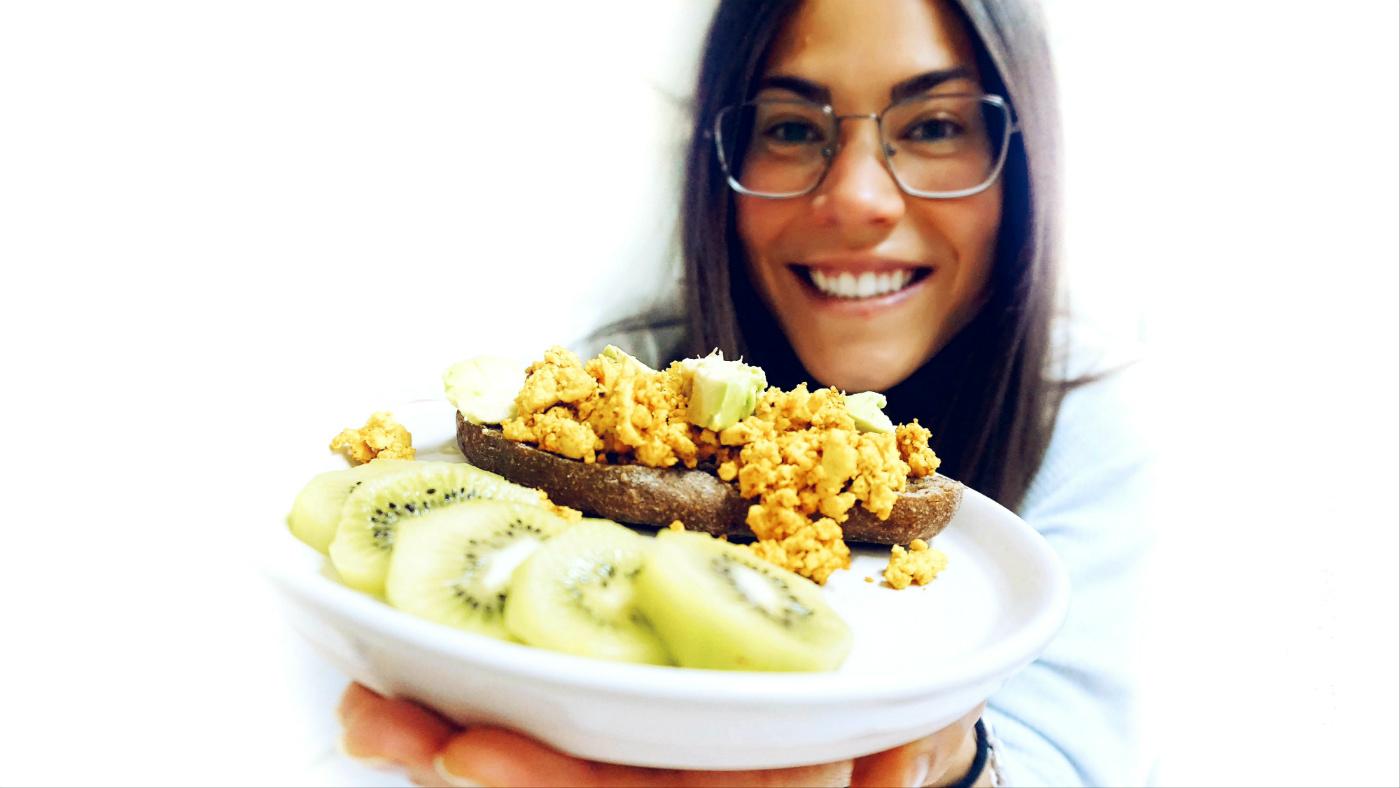 Alimentación saludable para reto siete días vegano