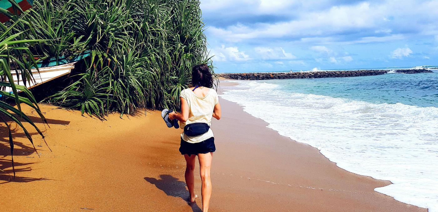 Mirissa Beach en Sri Lanka