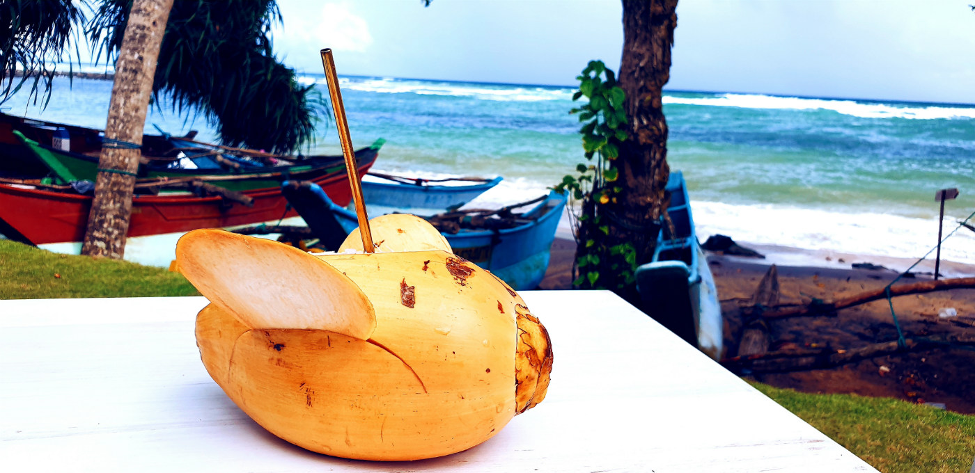 King Coconut en Sri Lanka