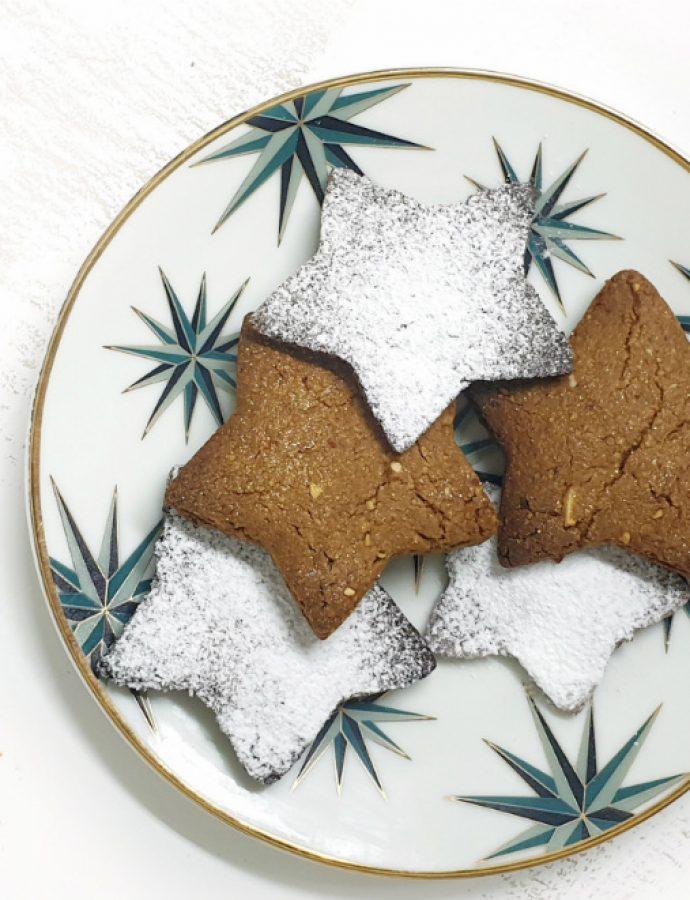 Galletas de jengibre sin gluten y veganas