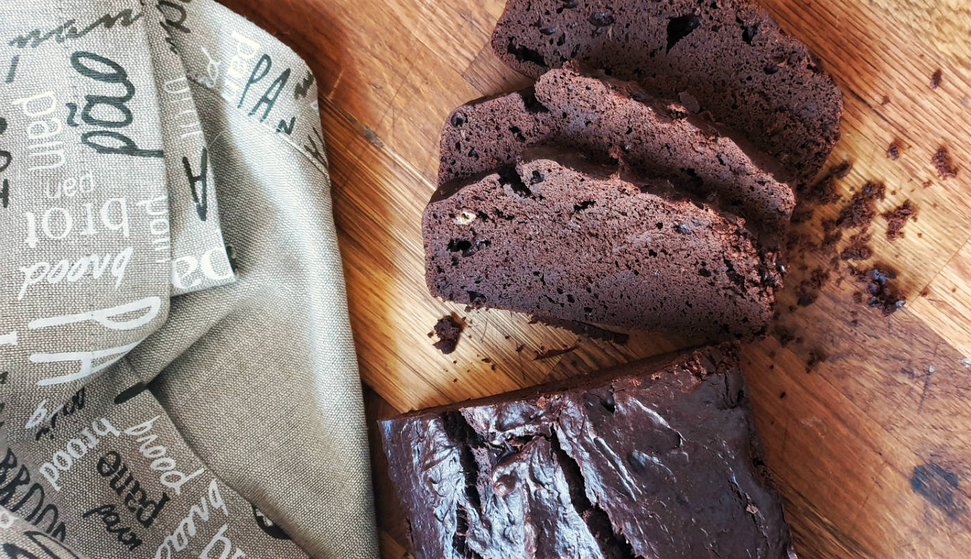 receta de brownie saludable de chocolate