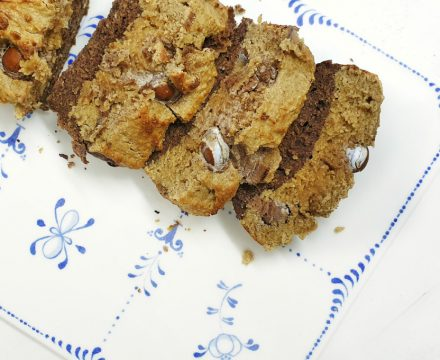 Choco Coffee Banana Bread marmolado