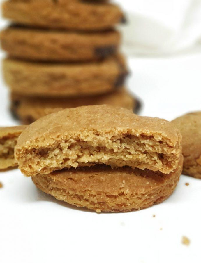 Butter cookies sin gluten, receta exprés