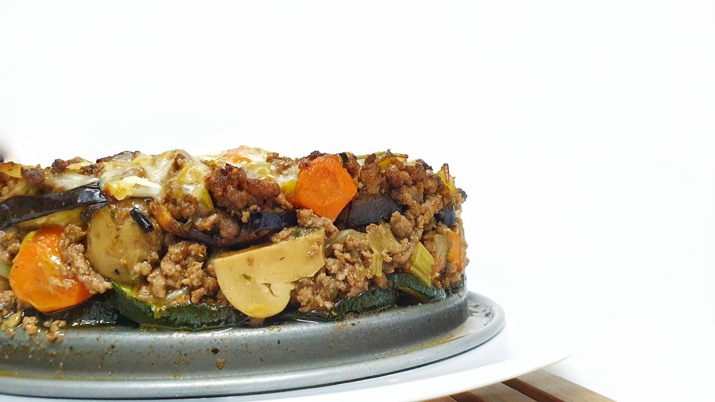 pastel-de-carne-en-airfryer