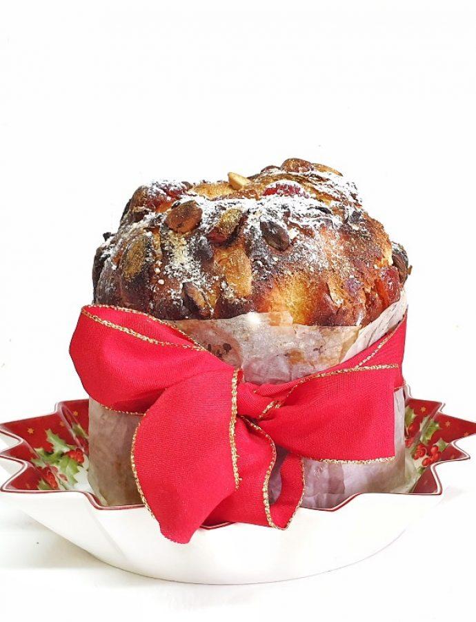 Pan dulce casero tradicional con masa madre