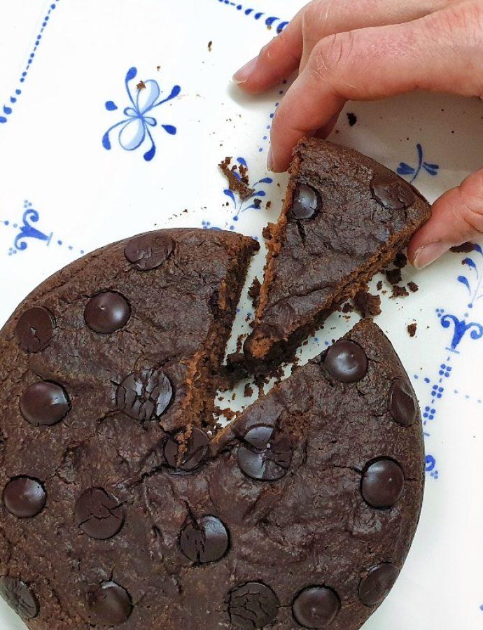 Receta del mejor bizcocho de chocolate saludable